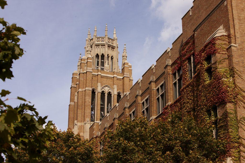 Marquette Hall. Photo credit: Marquette University.